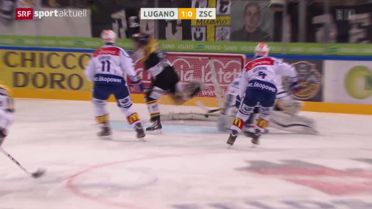 Eishockey: Lugano - ZSC Lions