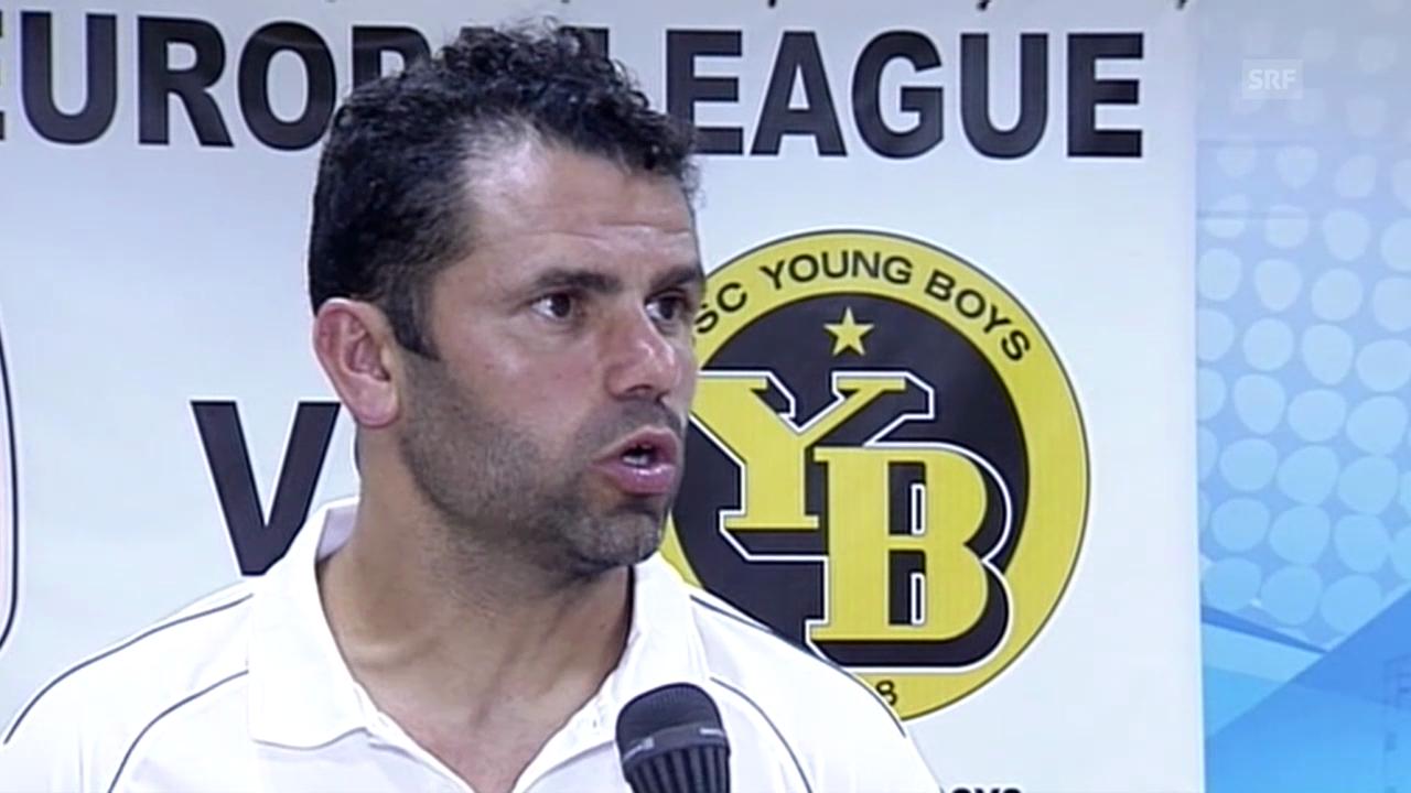 Fussball: Europa League, Aradippou-YB, Interview mit Uli Forte