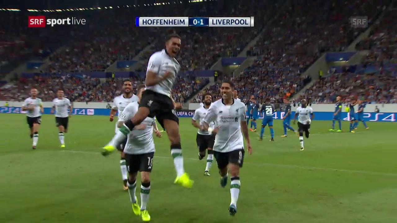 Zusammenfassung Hoffenheim - Liverpool