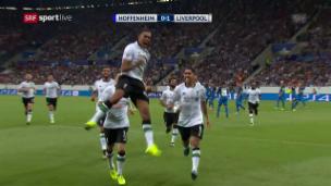 Video «Zusammenfassung Hoffenheim - Liverpool» abspielen