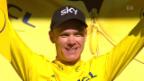 Video «Chris Froome erobert sich das «Maillot jaune» zurück» abspielen
