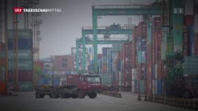 Video «Magere Bilanz bei Freihandelsabkommen Schweiz-China» abspielen