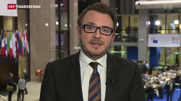 Video «EU-Sondergipfel» abspielen