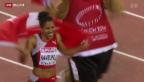 Video «Leichtathletik EM: Starker Vierter Platz bei 100m-Lauf» abspielen