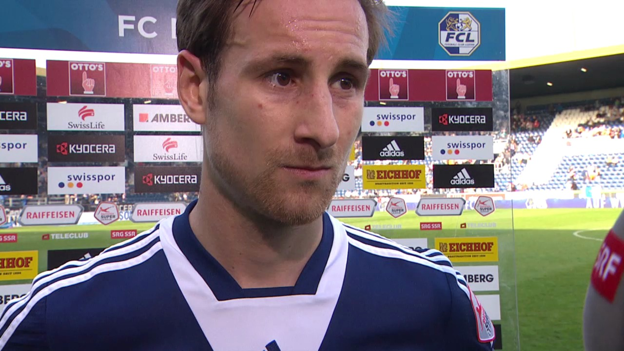 FCL-Spieler Jérôme Thiesson im Interview