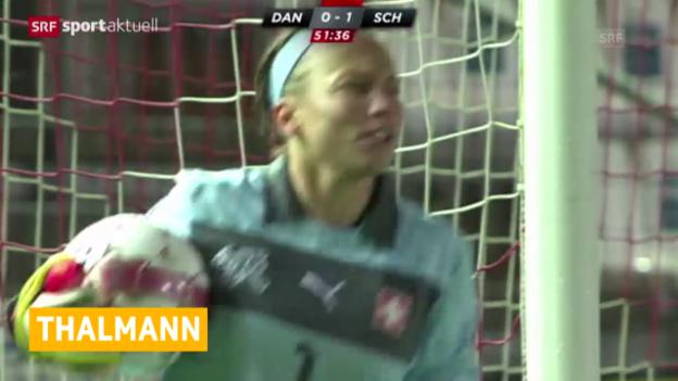 Video «Fussball: Nati-Goaliefrau mit Kreuzbandriss» abspielen