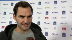 Video «Federer: «Wichtig, eine Reaktion gezeigt zu haben»» abspielen