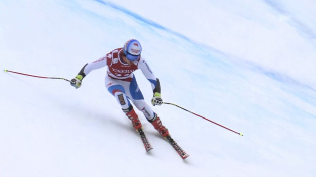 Video «Ski: Die Fahrt von Mauro Caviezel» abspielen