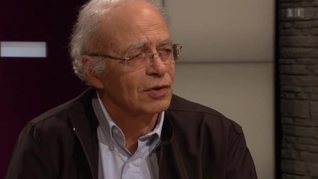 Video «Peter Singer – Der Weltverbesserer unter den Philosophen» abspielen