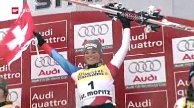 Ski: Triumph in St. Moritz: Gut gewinnt vor Suter!
