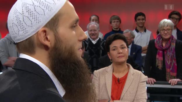 Video ««Arena»: Welche Rolle spielen Muslime in der Schweiz?» abspielen