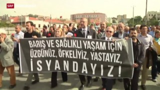 Video «Schuldzuweisungen nach Attentat in Ankara» abspielen