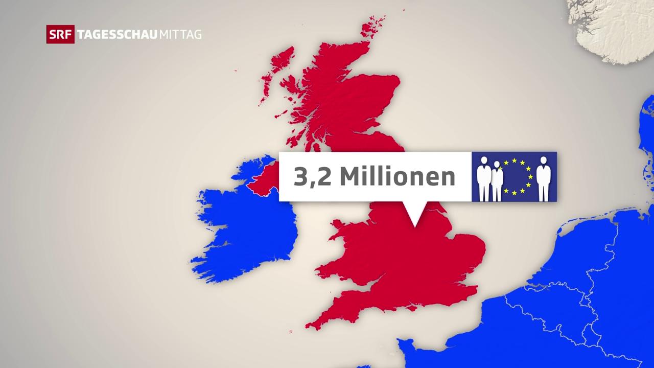 Die Brexit-Pläne Grossbritanniens
