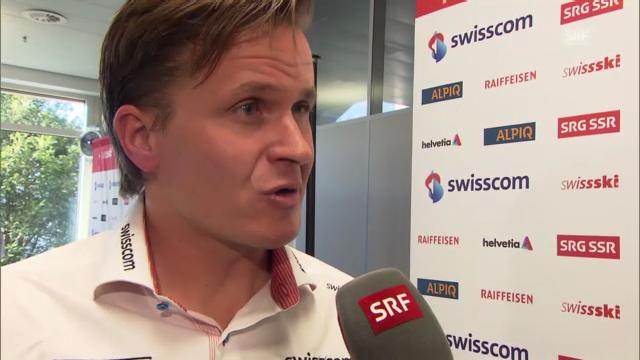 Ski alpin: Interview mit Urs Lehmann