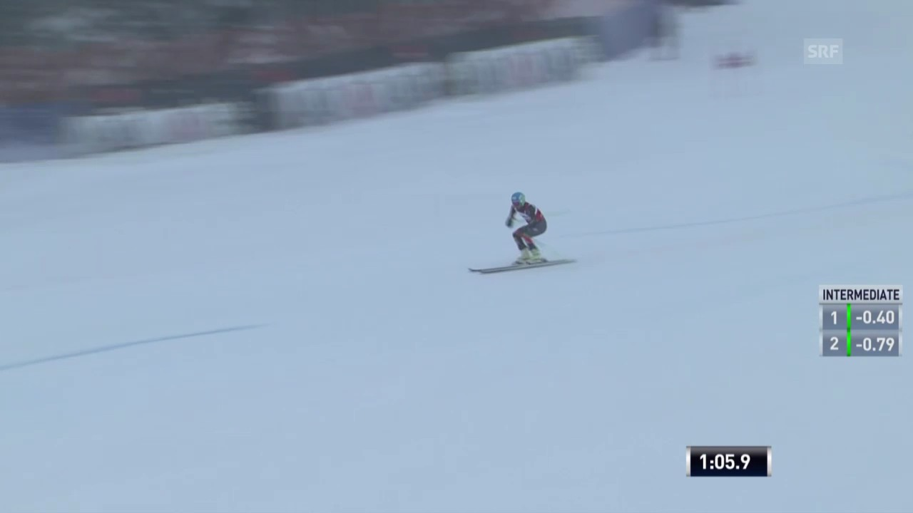 Ski: Ted Ligetys 1. Lauf beim RS in Beaver Creek