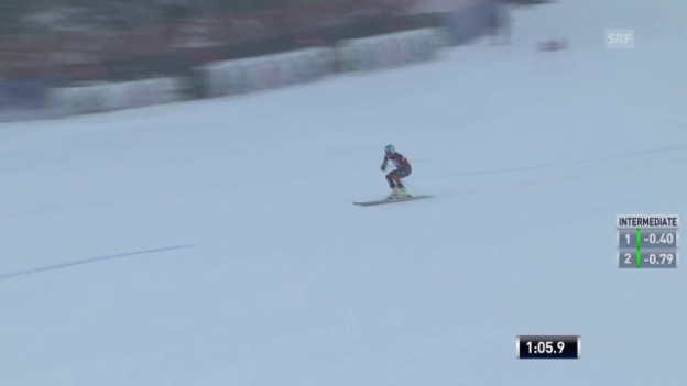 Video «Ski: Ted Ligetys 1. Lauf beim RS in Beaver Creek» abspielen