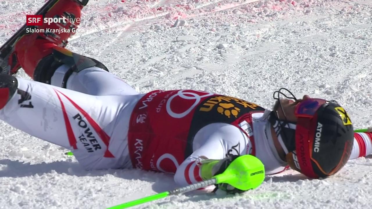 Marcel Hirscher fährt überlegen zum Sieg