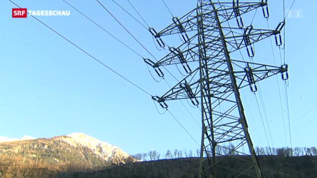 Sinkende Strompreise in der Schweiz