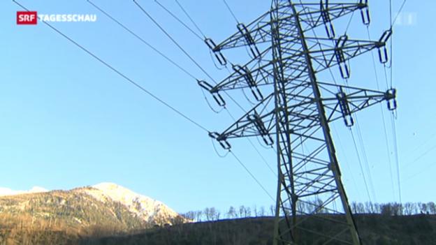 Video «Sinkende Strompreise in der Schweiz» abspielen