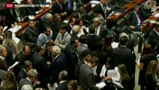 Video «Brasiliens Politik in Korruptionsverdacht» abspielen