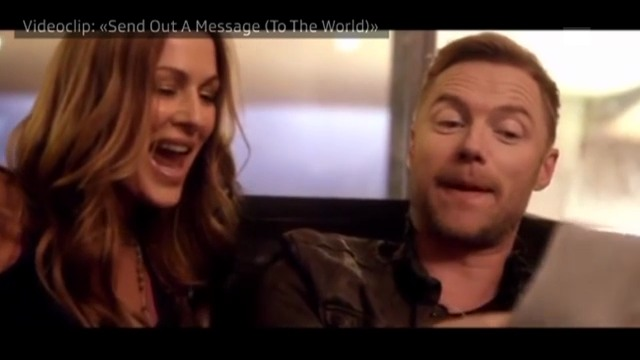 Kirsty Bertarelli und Ronan Keating: «Send Out A Message (To The World)»
