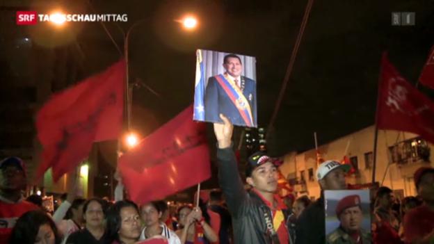 Video «Hugo Chavez ist tot» abspielen