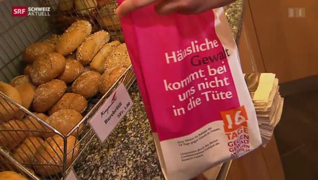 Video «Brotsack gegen Gewalt» abspielen