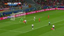 Video «Sanchez profitiert vom Fehler seines Klubkollegen» abspielen