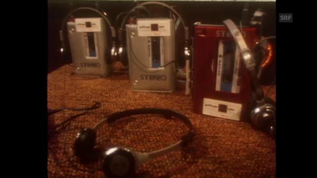 Video «Walkman-Welle in der Schweiz (80er-Jahre)» abspielen