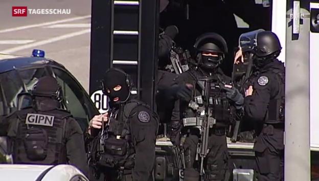 Video «Schüsse auf Polizisten in Marseille» abspielen
