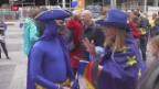 Video «Wie kommt Emmanuel Macron in Brüssel an?» abspielen