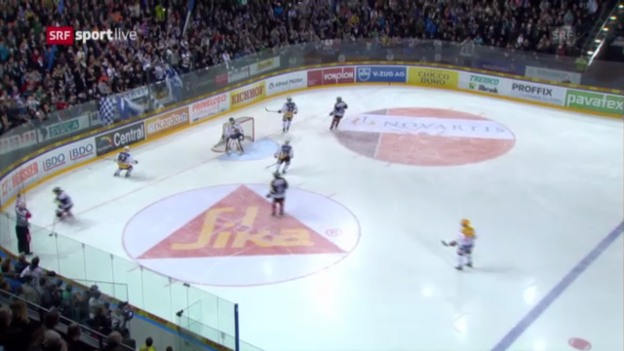 Video «Eishockey: Der Fehler von Joel Vermin» abspielen