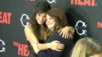 Video «Sandra Bullock und Melissa McCarthy feiern Filmpremiere» abspielen