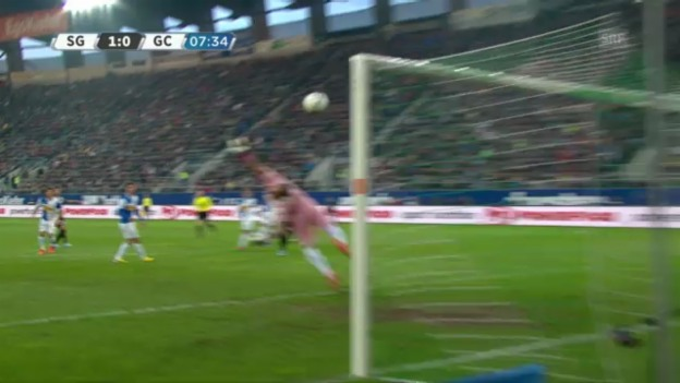 Video «Nr. 10: St. Gallens Janjatovic gegen GC» abspielen