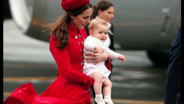 Video «Prinz George: Mit zehn Monaten bereits Fashion-Ikone» abspielen
