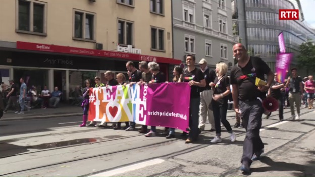 Laschar ir video «Zurich Pride Festival»
