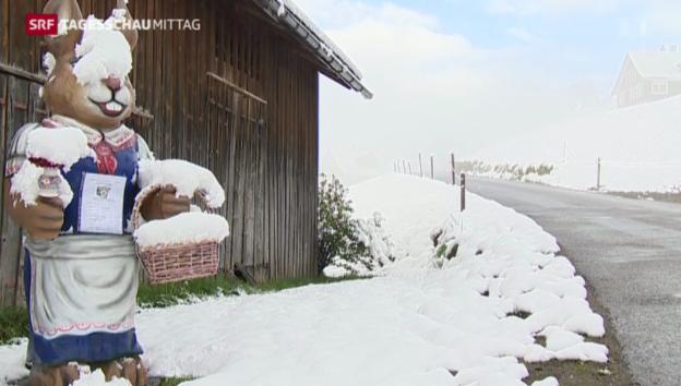 Video «Schnee am Osterwochenende» abspielen