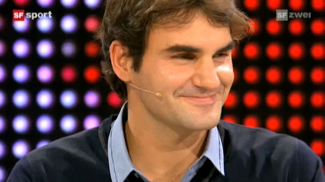 Studiogast Roger Federer, Teil 4