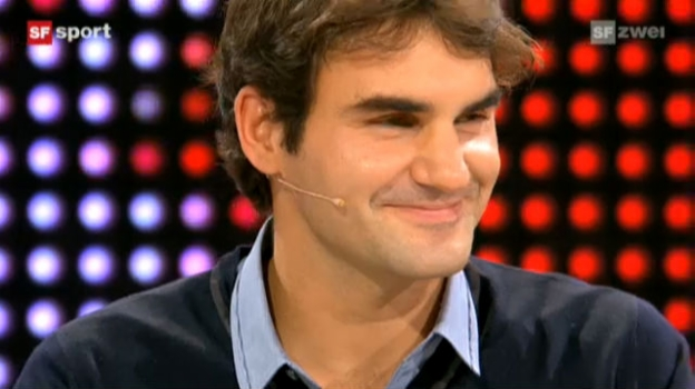 Video «Studiogast Roger Federer, Teil 4» abspielen