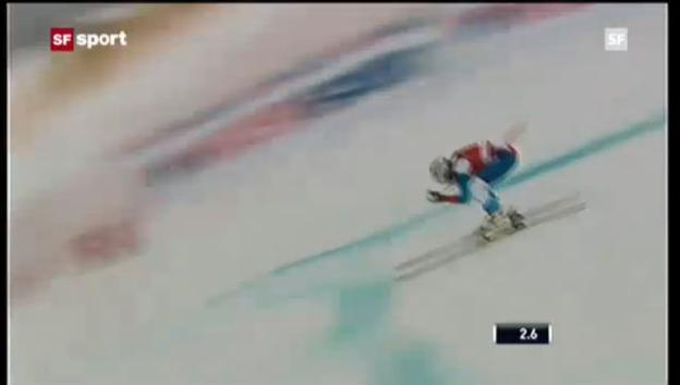Video «Ski: Abfahrt Frauen in Lake Louise («sportaktuell»)» abspielen