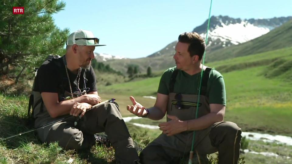 Prim d'avust: Sven en l'Engiadina Bassa
