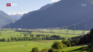 Video «Glarner Regierung verunmöglicht geplanten Windpark» abspielen