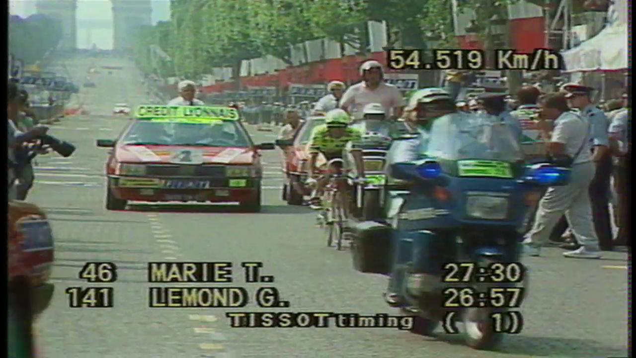 1989: Das legendäre Duell Lemond vs. Fignon