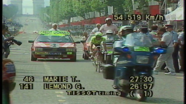 Video «1989: Das legendäre Duell Lemond vs. Fignon» abspielen