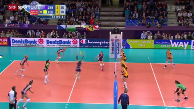 Video «Volleyball: Champions League, Volero-Cannes» abspielen