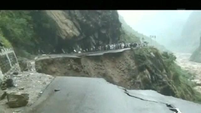 Fluten in Indien (engl.)