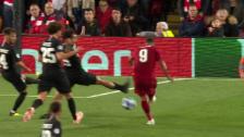Link öffnet eine Lightbox. Video Firminos Treffer ins Liverpooler Glück abspielen