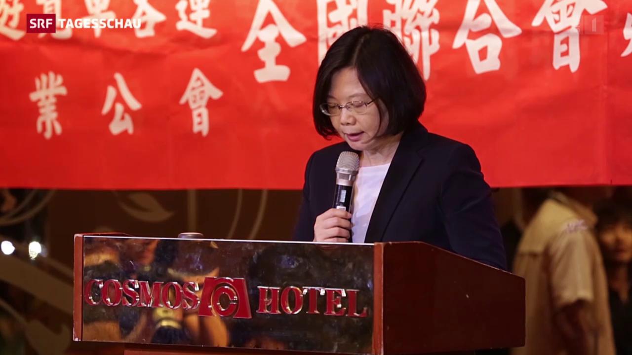 Taiwan wohl bald mit Präsidentin