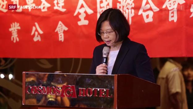 Video «Taiwan wohl bald mit Präsidentin» abspielen