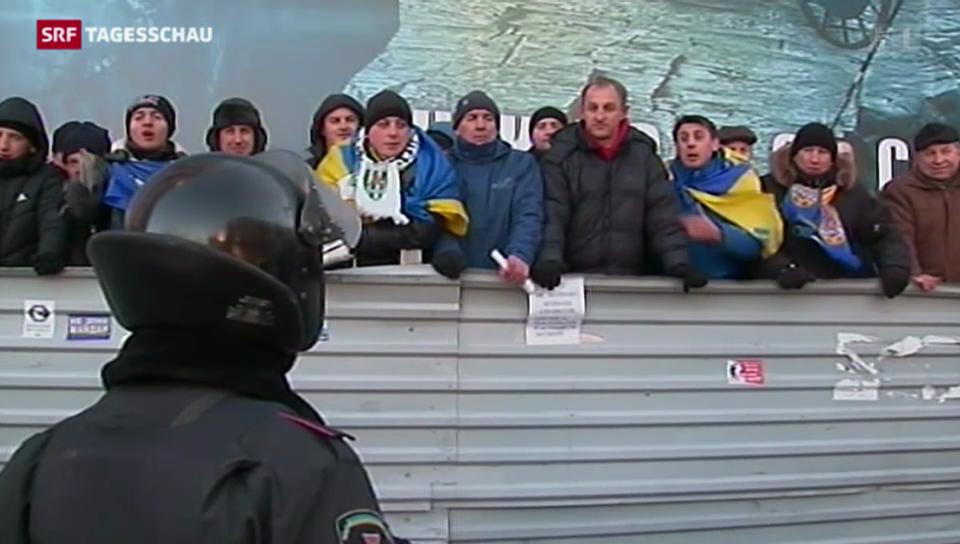 Ukraine: Verhandlungen gescheitert - Proteste dauern an